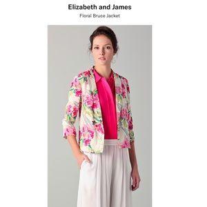 Elizabeth and James Floral Bruce Jacket Size 6